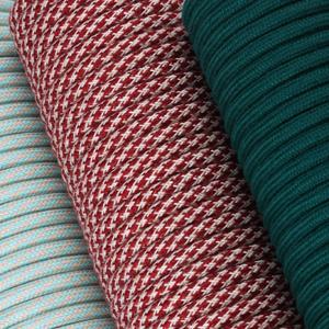 Textilkabel Rund Abaca Farben