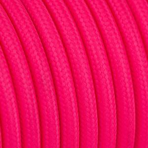 Textilkabel Rund Neonfarben