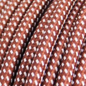 textilkabel-rund-elite-braun-weiss-fabriccable-round-elite-brown-white