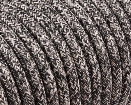 textilkabel-rund-naturliche-leine-anthrazit-fabriccable-round-raw-yarn-lame-canvas-anthracite