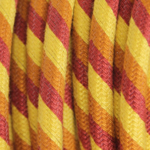 textilkabel-rund-fantasia-abaca-dreifach-gestreift-gelb-orange-rot-fabriccable-round-fantasia-abaca-triple-stripe-yellow-orange-red