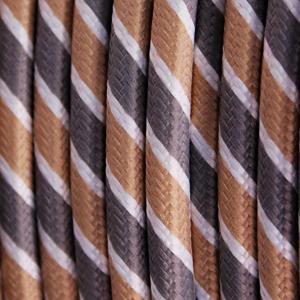 textilkabel-rund-fantasia-abaca-dreifach-gestreift-grau-gold-weiss-fabriccable-round-fantasia-abaca-triple-stripe-grey-gold-white
