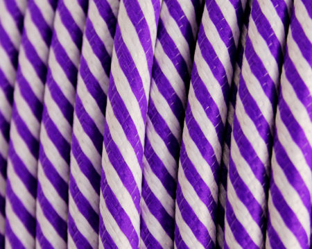 textilkabel-rund-fantasia-doppelt-fein-gestreift-lila-weiss-fabriccable-round-fantasia-thin-stripe-purple-white