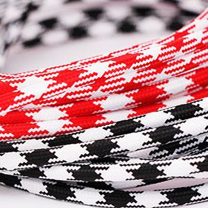 Textilkabel Rund Muster