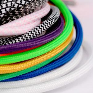 Textilkabel Rund