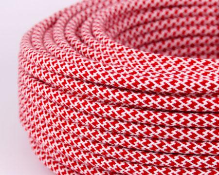 textilkabel-rund-abaca-quadrat-zigzag-rot-weiss-fabriccable-round-abaca-square-zigzag-red-white.2
