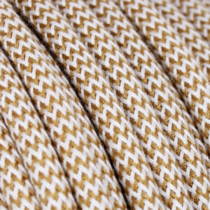 textilkabel-rund-abaca-zigzag-weiss-gold-fabriccable-round-abaca-zigzag-gold-white