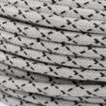 textilkabel-rund-raute-grau-schwarz-fabriccable-round-rhombus-grey-black