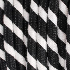 textilkabel-rund-fantasia-abaca-doppelt-gestreift-schwarz-weiss-fabriccable-round-fantasia-abaca-dual-stripe-black-white