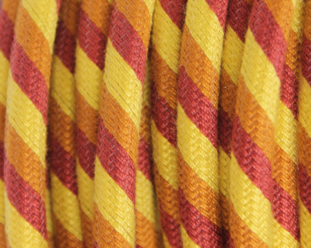 textilkabel-rund-fantasia-abaca-dreifach-gestreift-gelb-orange-rot-fabriccable-round-fantasia-abaca-triple-stripe-yellow-orange-red