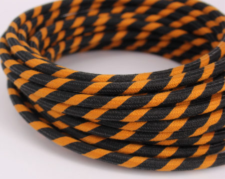 textilkabel-rund-fantasia-abaca-dreifach-orange-schwarz-fabriccable-round-fantasia-abaca-triple-orange-black.1