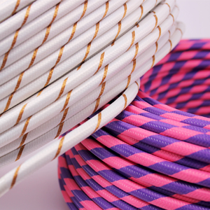 Fabric Cable Round Fantasia