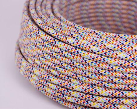 textilkabel-rund-mehrfarbig-zickzack-pixel-weiss-fabriccable-round-multicolor-zigzag-pixel-white